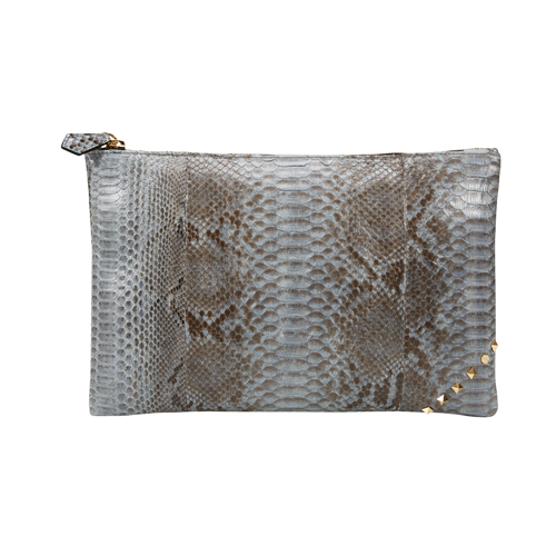 [불르아]ZIP CLUTCH_GRAY BLUE
