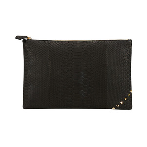[불르아]MATT ZIP CLUTCH_BLACK
