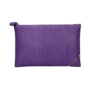 [불르아]MATT ZIP CLUTCH_PURPLE