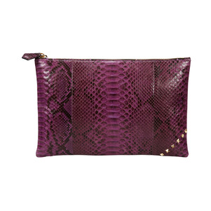 [불르아]ZIP CLUTCH_PURPLE