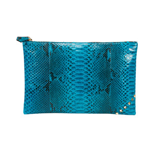 [불르아]ZIP CLUTCH_LIGHT BLUE
