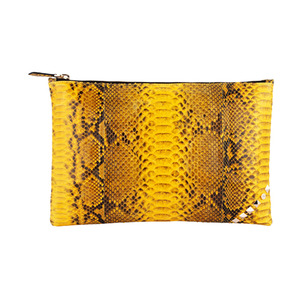 ZIP CLUTCH_YELLOW