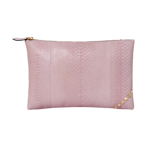 ZIP CLUTCH_PALE PINK