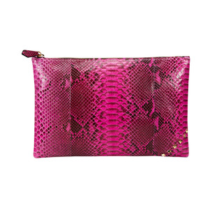 ZIP CLUTCH_HOT PINK